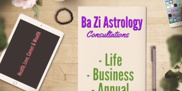 Chinese Astrology Ba Zi Consultations